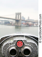Brooklyn telecope - Brooklyn view with telecope