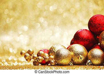 Christmas decoration - Colorful christmas decoration on...