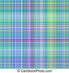 blue tartan pattern - seamless texture of detailled woven...
