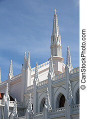 San Thome Basilica Cathedral Church, Chennai, India - San...
