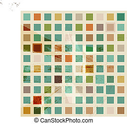 Abstract vector retro background