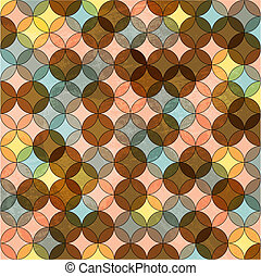 Vector abstract retro mosaic background