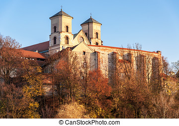 Benedictine abbey in Tyniec, Krakow, Poland - Benedictine...