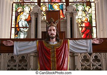 San Thome Basilica Cathedral / Church, Chennai, India - San...