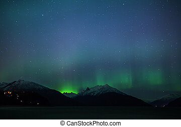 Northern Lights from Portage Cove - Northern Lights aurora...