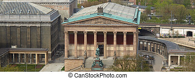 Alte National Galerie - The Alte Nationalgalerie museum in...