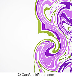 Colors abstract background.  illustration