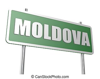 Moldova - Hi-res original 3d rendered computer generated...