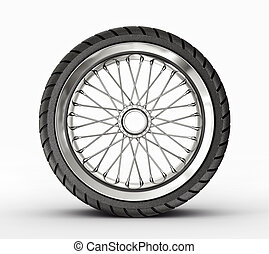 rim - retro rim isolated on a white background