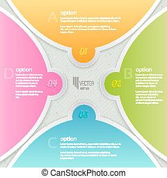 Infographics template.