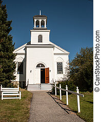 Rural  Church - Rural white church in the united states