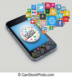 Iphone socialmedia