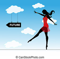 girl and future