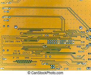 Yellow circuit board