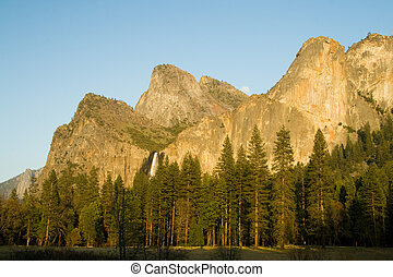 Bridalveil Fall is one of the most beautiful of Yosemites...