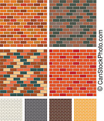 Brick wall - Illustration of a brick wall for your designs