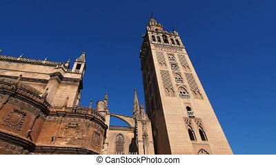 Cathedral in Seville, Spain - Santa Maria de la Sede...