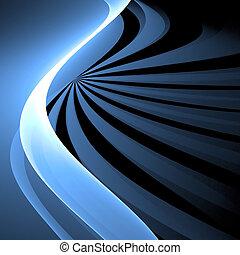 Abstract background. Blue - white palette. Raster fractal...