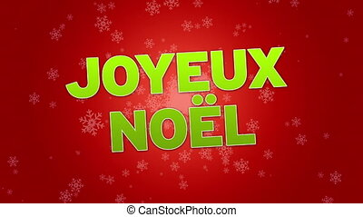 Merry Christmas (In French)