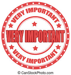Very Important - Label with text Very Important,vector...