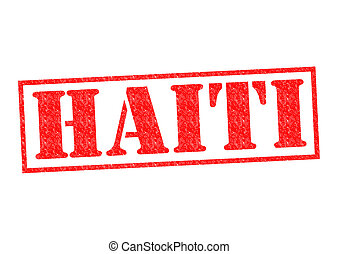 HAITI Rubber Stamp over a white background.