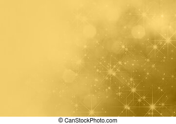 Gold Star Fade Background - A festive gold background with...