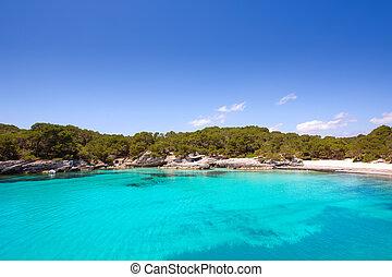 Menorca Cala en Turqueta Ciutadella Balearic Mediterranean -...