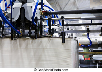 equipment for a press - The equipment for a press in a...