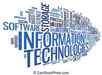 Information technology in tag cloud - Information technology...