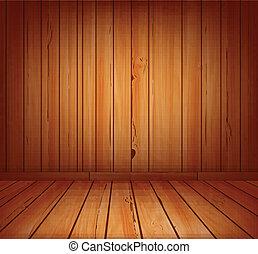 wooden planks interior background