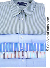 shirts - colourfull mens shirts isolated on white background...