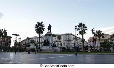 Cavour square in Rome