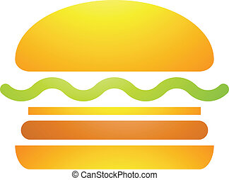 Fast Food Burger Icon