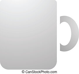 Coffee Mug Icon - Illustration of Coffee Mug Icon isolated...