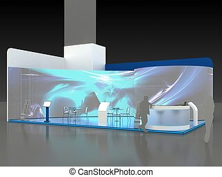 Exhibition Stand Interior - Exterior Sample