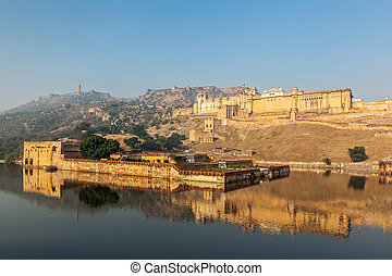 Amer Amber fort, Rajasthan, India - Famous Rajasthan...