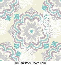 Snowflake winter pattern