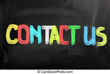 Contact Us Concept - Contact Us Concep