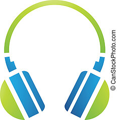 PC Accessories Headphones Icon - Illustration of PC...