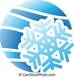 Winter Season Icon - Illustration of Winter Season Icon...