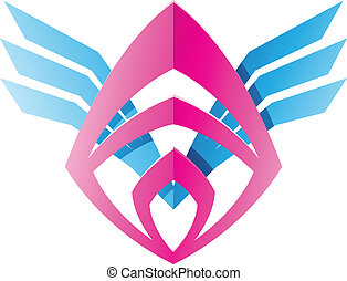 Blade Shaped Abstract Icon