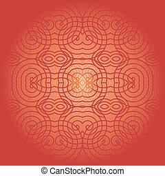 Vector ornamental background