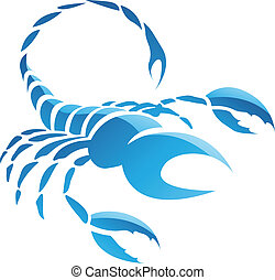 Scorpio Zodiac Star Sign - Illustration of Scorpio Zodiac...