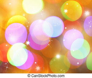 Abstract background - Abstract christmas blurred background