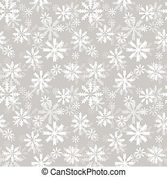 Snowlakes pattern - Pastel seamless pattern with snowflakes....