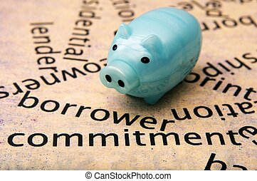 Borrower commitment concept