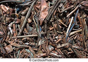 Copper mixed