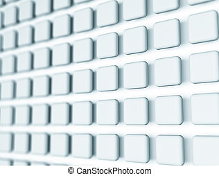 Abstract cube background shiny glossy silver backdrop wallpaper
