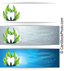 Dental banners
