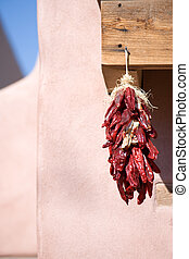 Traditional southwest chili decorations - Chili pepper...